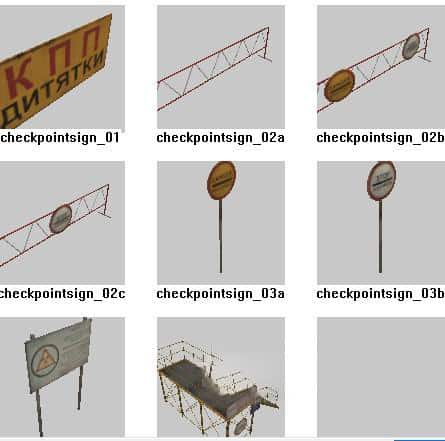 Spintires - Objects for The Map Editor from DLC Chernobyl V1