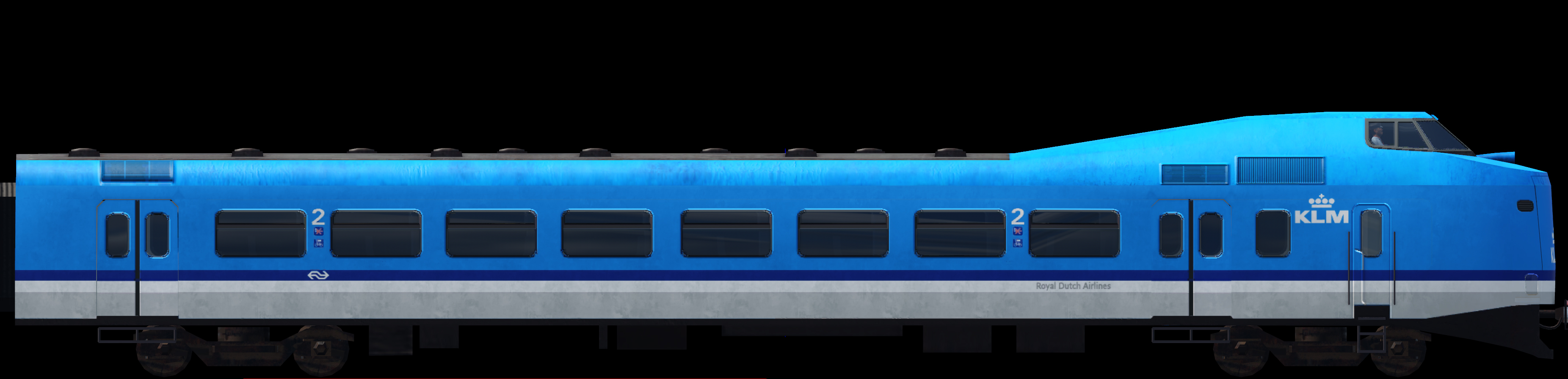 Transport Fever 2 - NS ICM Koploper: KLM