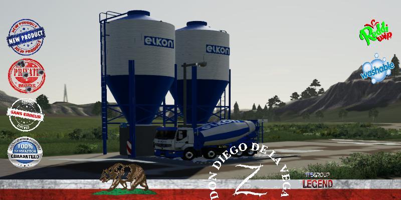 FS19 - Centrale De Vente Elkon V1.5