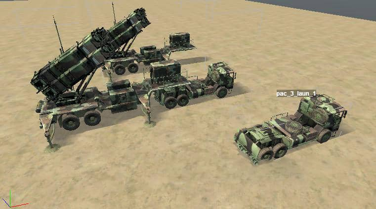 Spintires - Anti-Aircraft Missile System Patriot Pac-3 V1