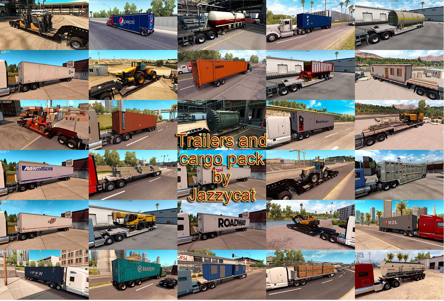 ATS - Trailers and Cargo Pack V2.7 (1.35.X)