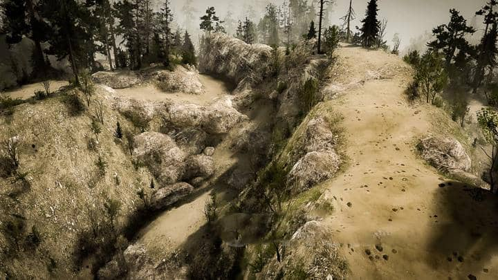 Spintires:Mudrunner - The Legend Of Mike Map V1.0