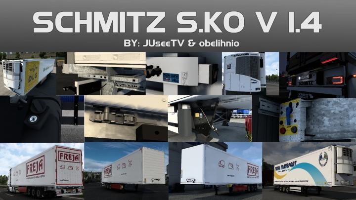 ETS2 - Schmitz S.KO V1.4 (1.40.x)