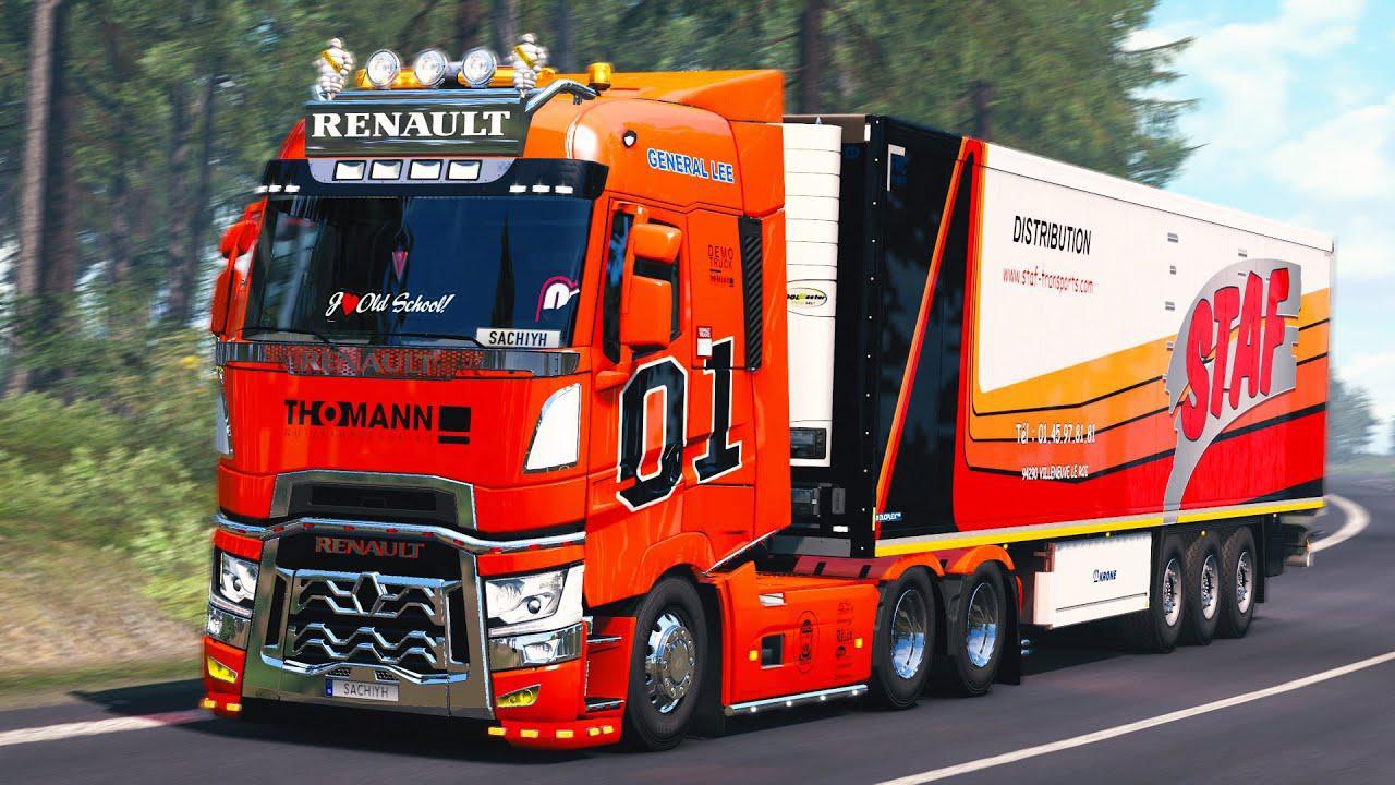 ETS2 - Renault Range T Truck V3 (1.38.x)