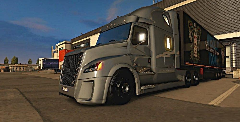 ETS2 - Daimler Freightliner Inspiration (1.37.x)