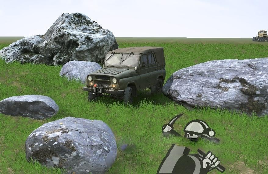 Spintires:Mudrunner - Stones 02 v1
