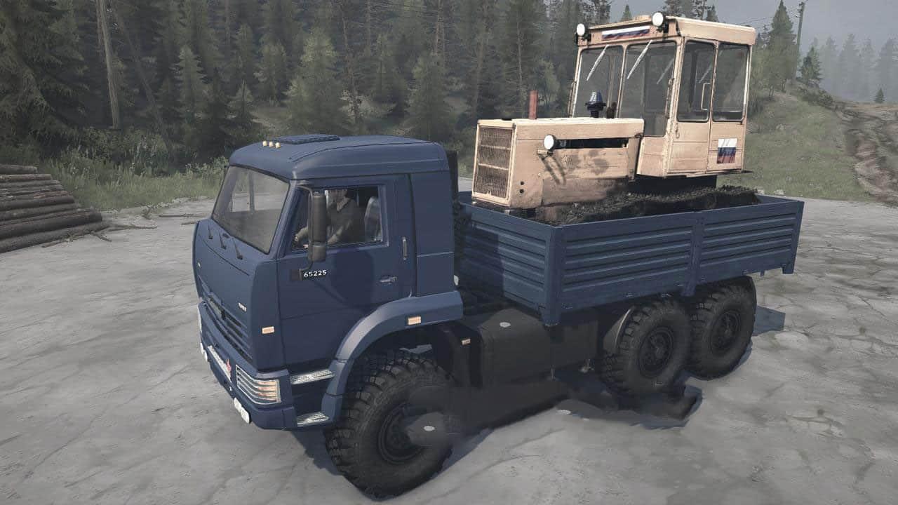 Spintires:Mudrunner - Kamaz-65225 Truck V25.06.20