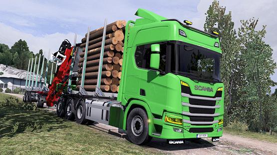 ETS2 - Scania Next Gen Rigid Forest Parts Fix Mod (1.38.x)