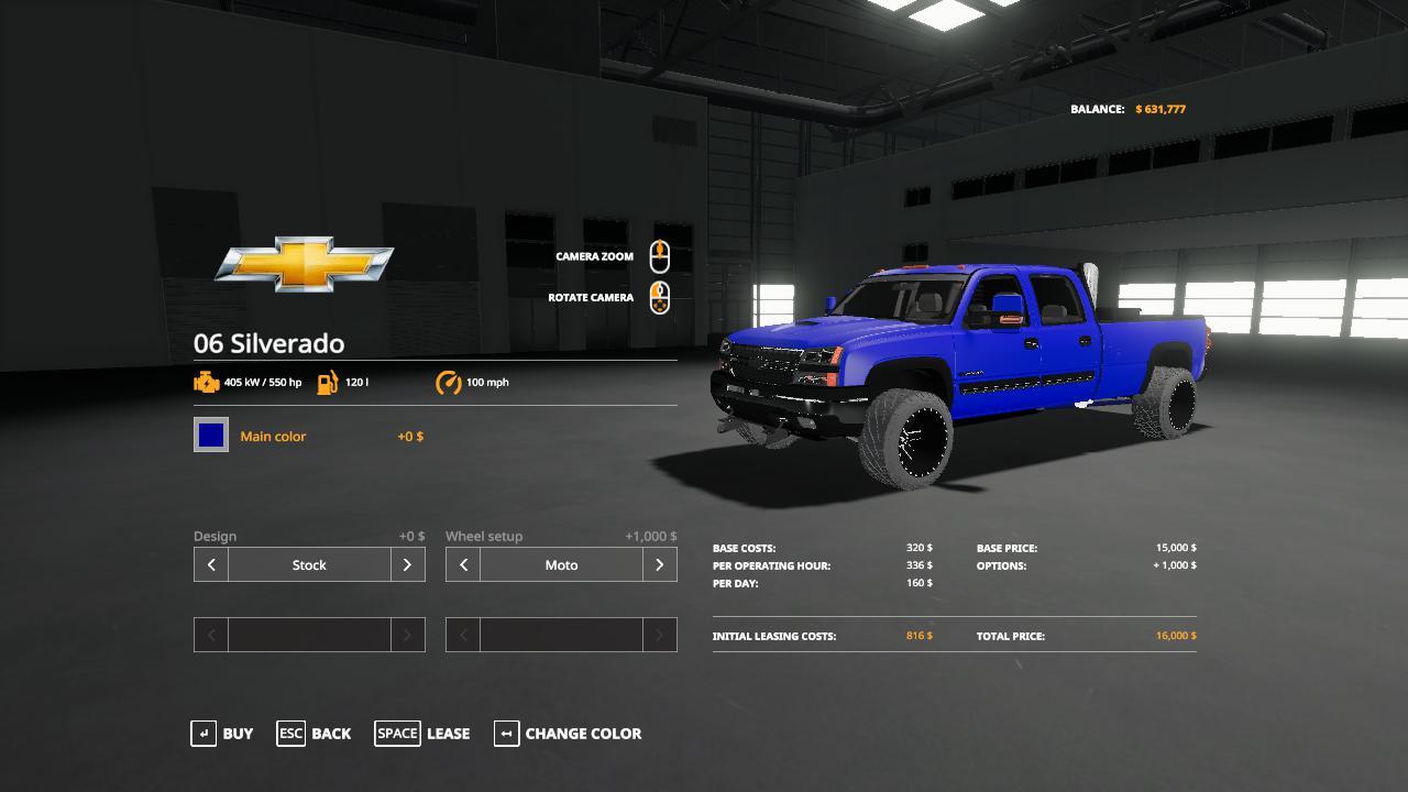 FS19 - Chevrolet 06 Duramax V1.3