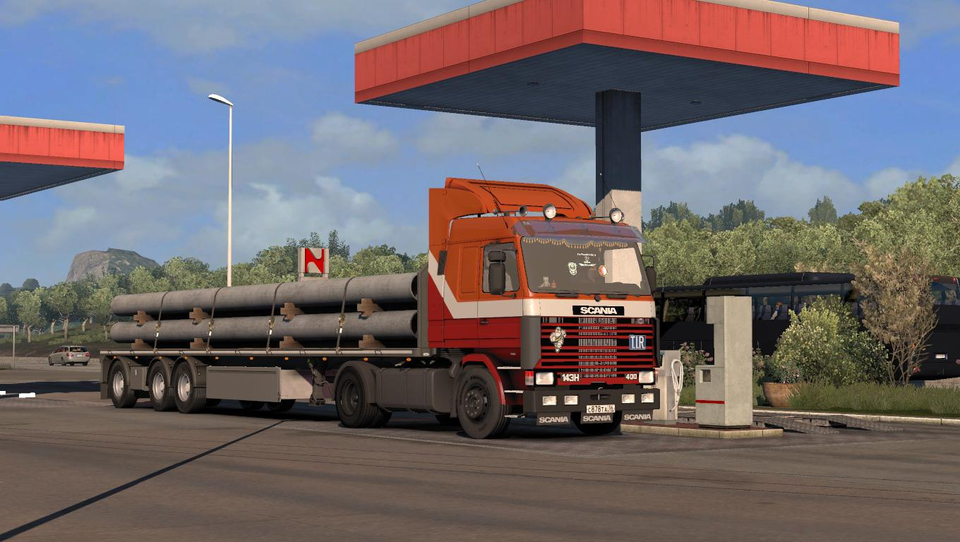 ETS2 - Scania 143H Truck (1.35.X)