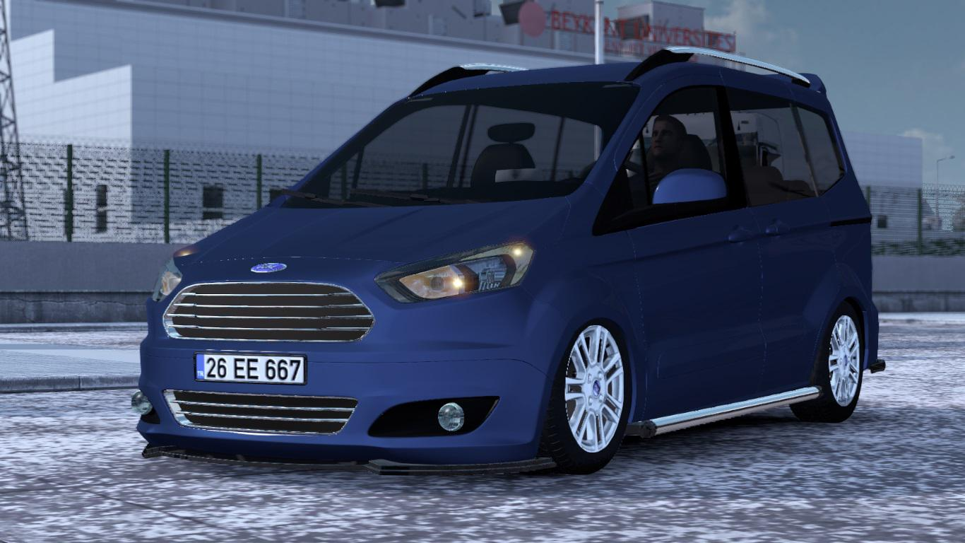 ETS2 - Ford Tourneo Courier V1R50 (1.39.x)