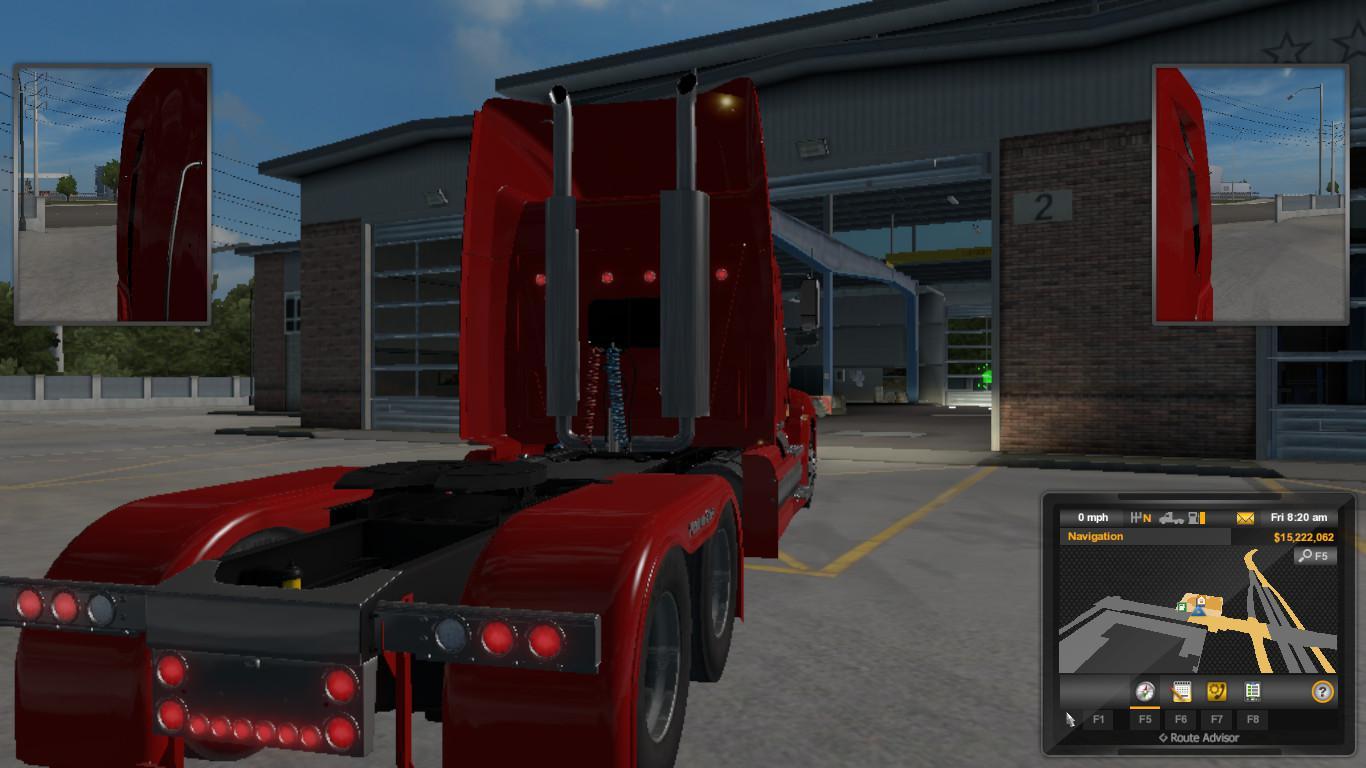 ATS - Kenworth W900EX Truck (1.36.x)