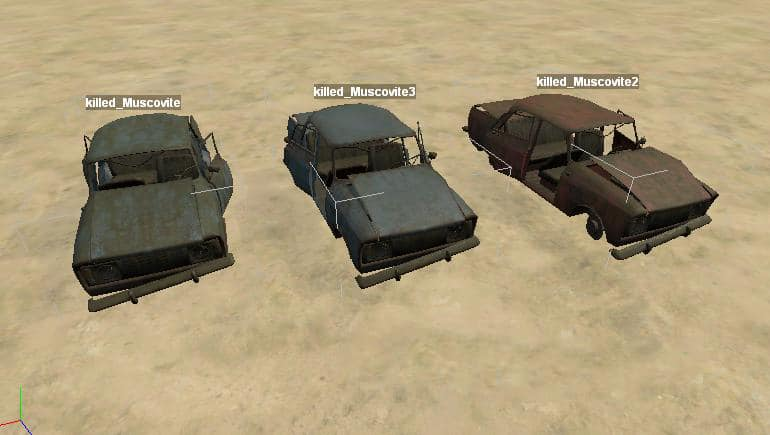 Spintires - Static Objects (Moskvich-412 Scrap Metal) V1.0