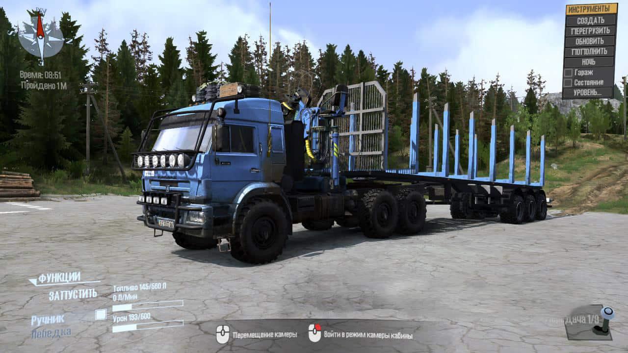 Spintires:Mudrunner - Kamaz 44108 Truck V2.0