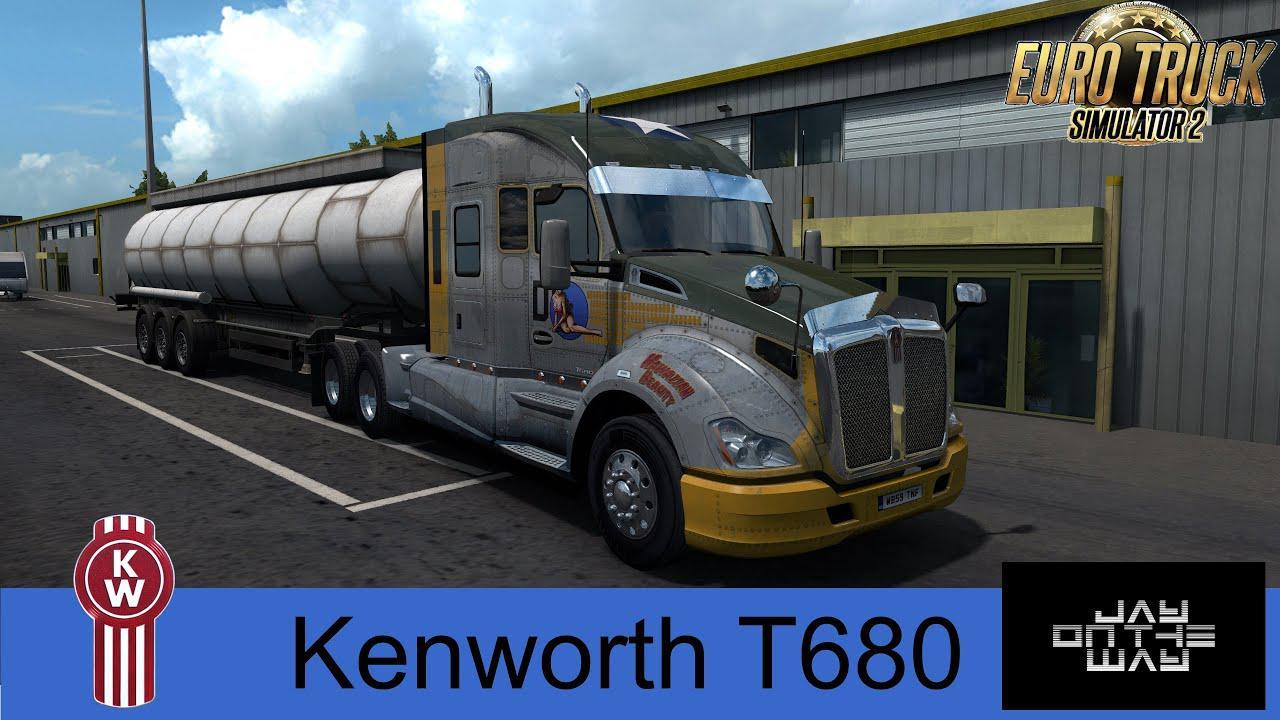 ETS2 - Kenworth T680 Truck (1.36.x)