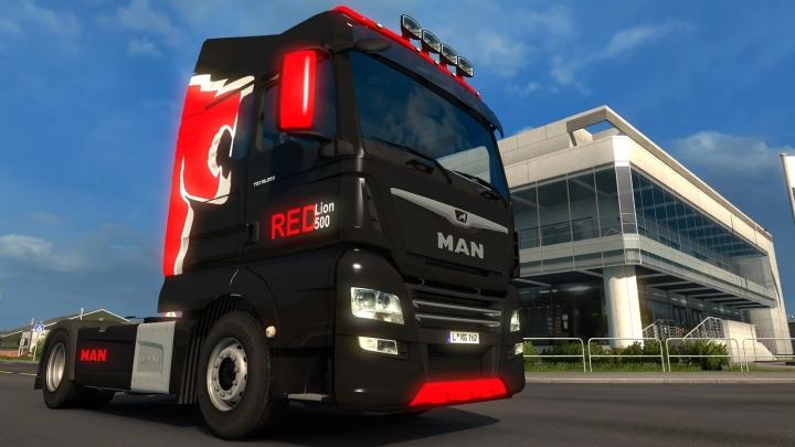 ETS2 - Man Tgx Euro 6 Truck V1.0 (1.40.x)