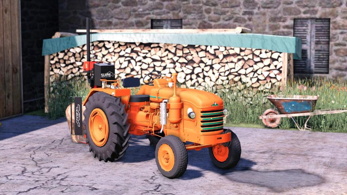 FS19 - Renault D35 Tractor V1