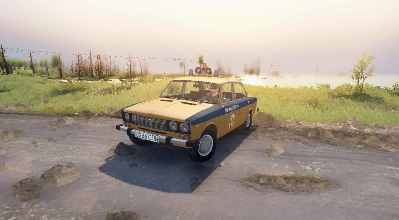 Spintires - Vaz-2106 Milition of The USSR V02.12.19