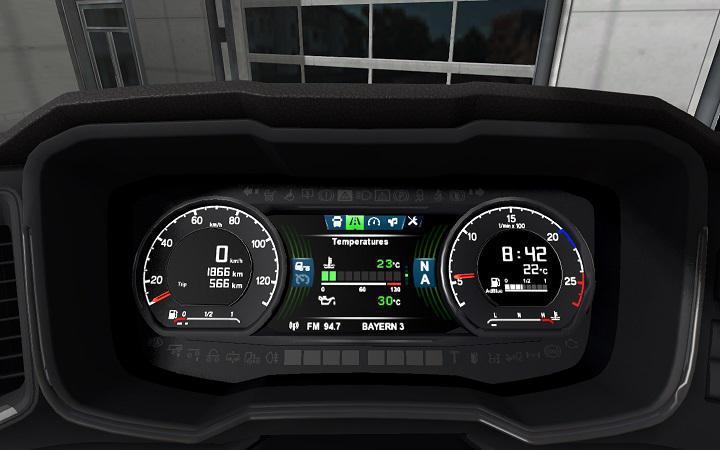 ETS2 - Scania Dashboard Computer V2.0 (1.38 - 1.39)