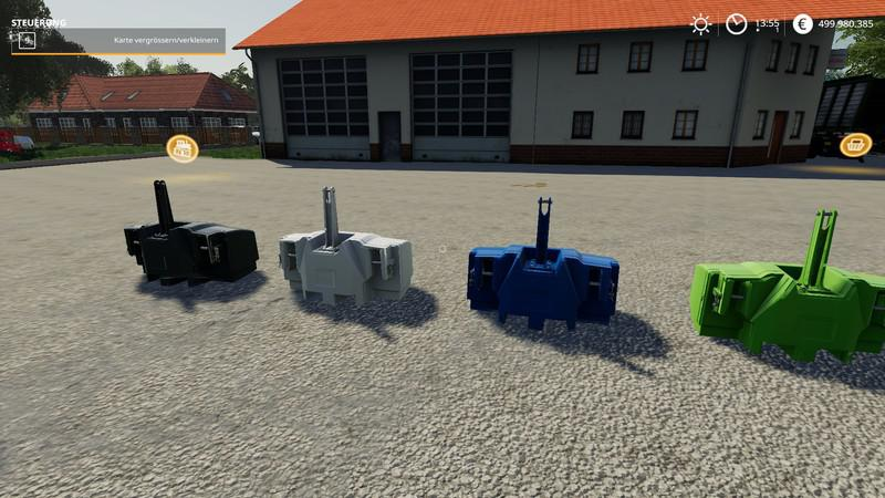FS19 - XXL Weights Pack V2.1.2.2