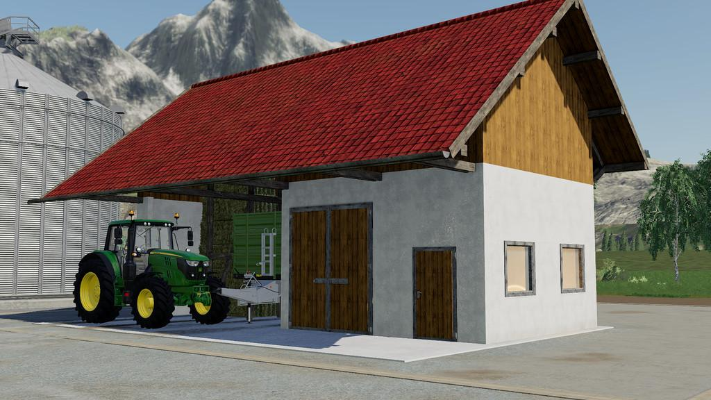 FS19 - Barn With Workshop V1.0