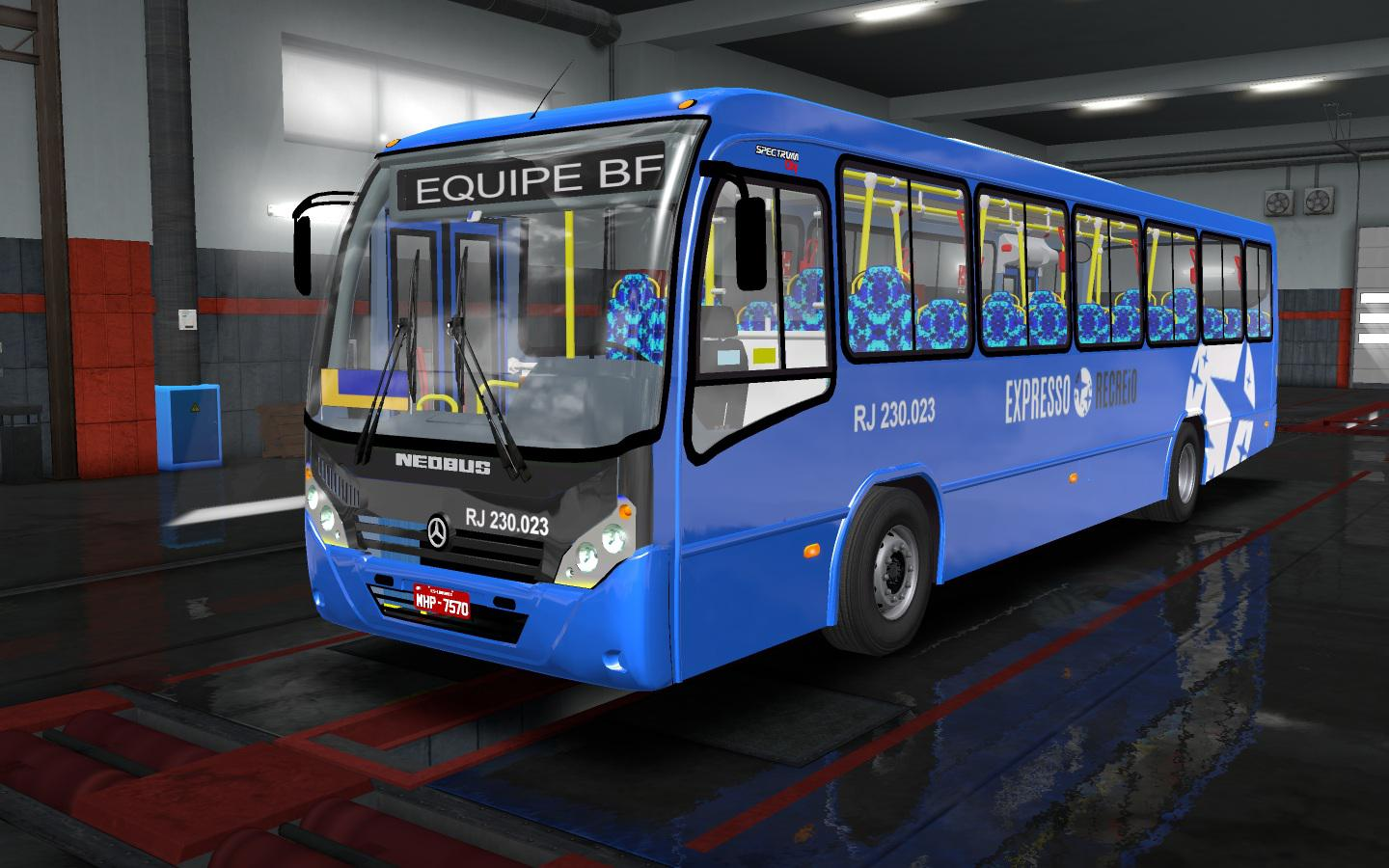 ETS2 - Neobus Spectrum OF-1721 Bus Mod (1 35 X) | Euro Truck