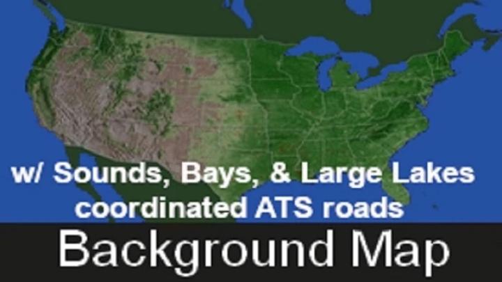 ATS - WorldMap Satellite Background V1.1 (1.41.x)
