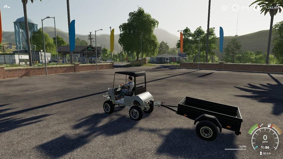 FS19 - Lifted Offroad GolfCart V1.0
