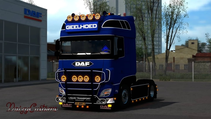 ETS2 - Daf - EC Truckstyling (1.40.x)