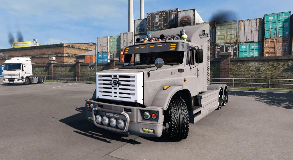 ETS2 - Zil 4421 Light Tuning Truck (1.38.x)