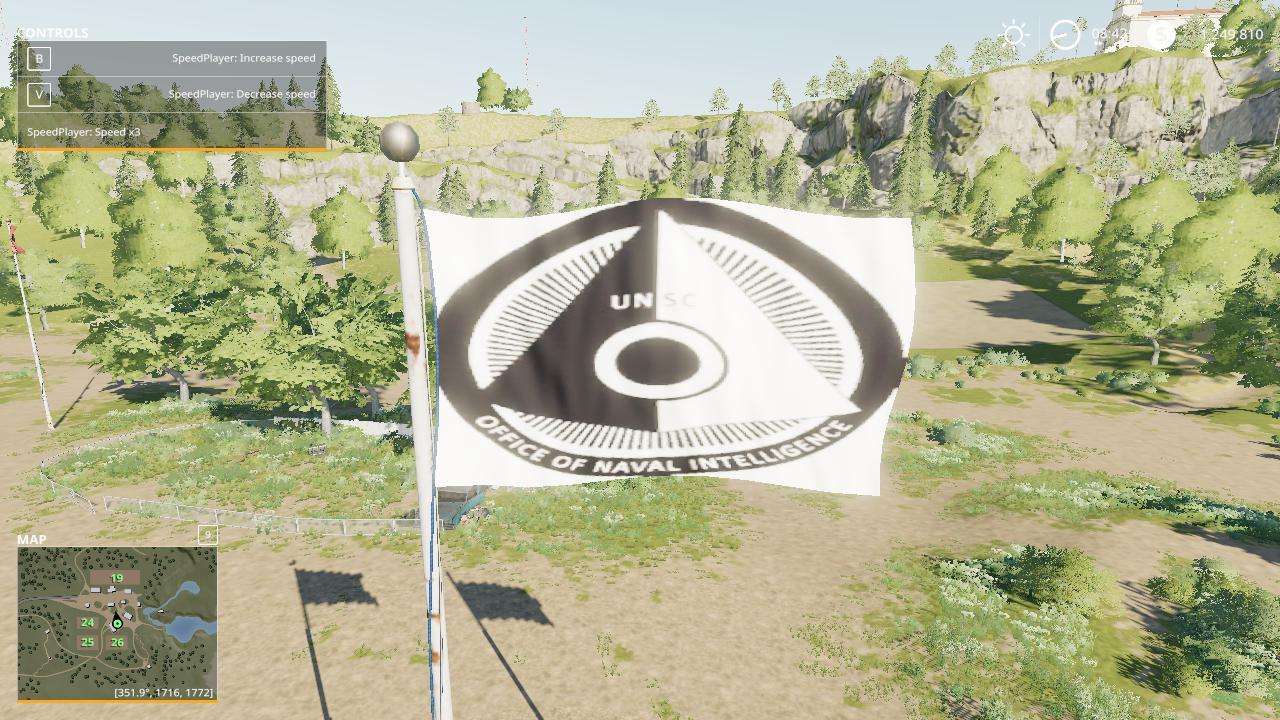 FS19 - ONI Flag V1.0