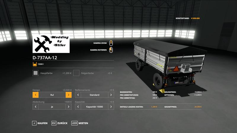 FS19 - Tipper Pack Final V2.5