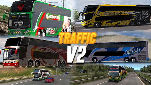 ATS - Busses in Traffic Mod (1.40.x)