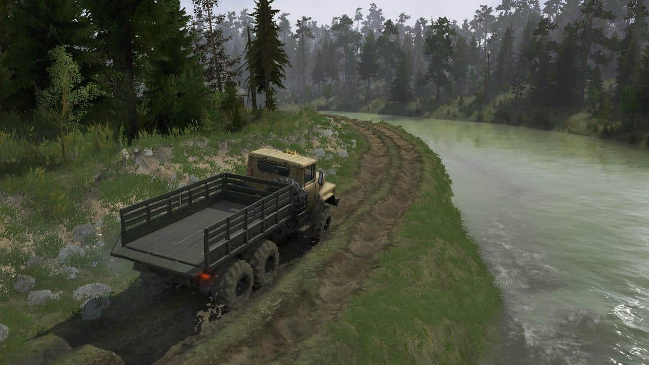 Spintires:Mudrunner - Forest Game Map V25.05.21