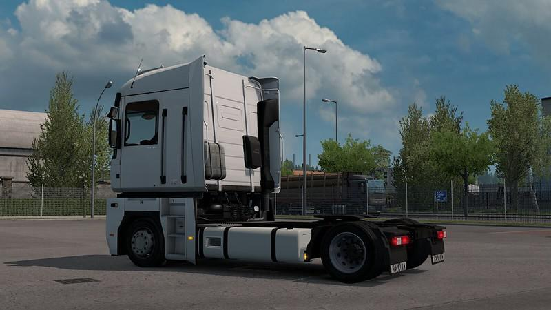 ETS2 - Low Deck Chassis Addon for Renault Magnum V1.2 (1.39.x)
