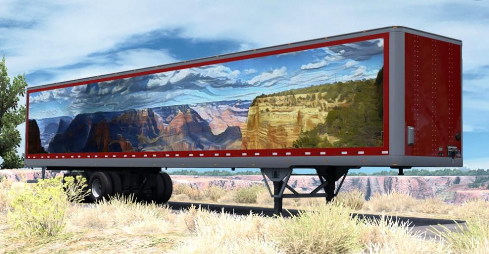 ATS - Canyon Art Trailer Skin V1.0 (1.36.x)