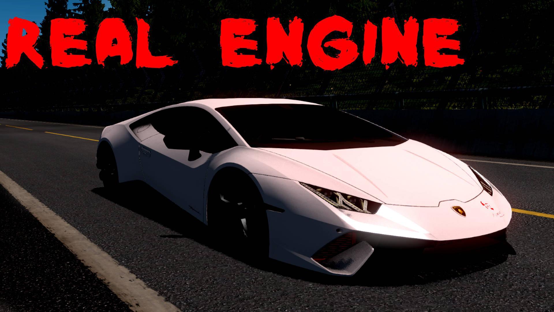 ETS2 - Lamborghini Huracan [Real Engine] 1.36.x