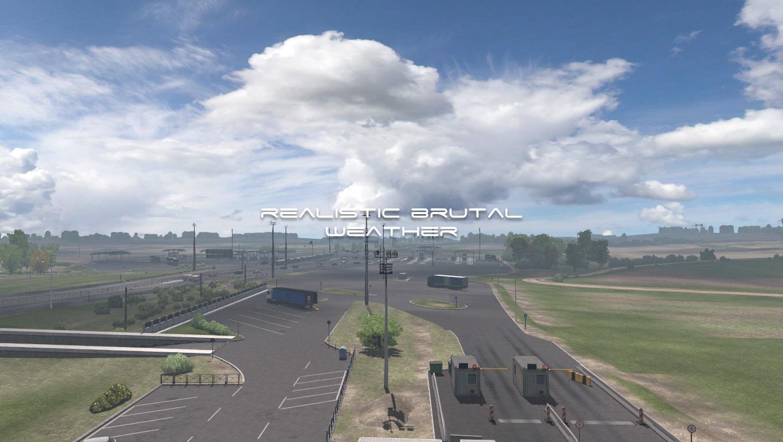 ETS2 - Realistic Brutal Weather V5.7 (1.38.x)