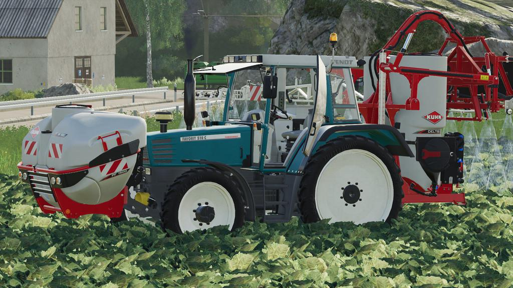 FS19 - Fendt Favorit 509 510 Tractor V4.0
