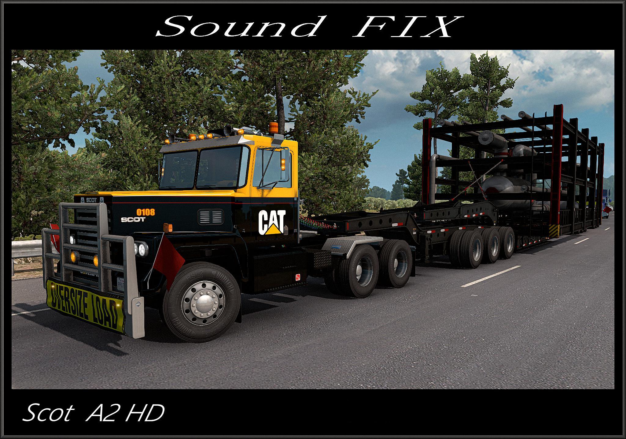 ATS - Scot A2HD Sound Fix Mod V1.0 (1.38.x)