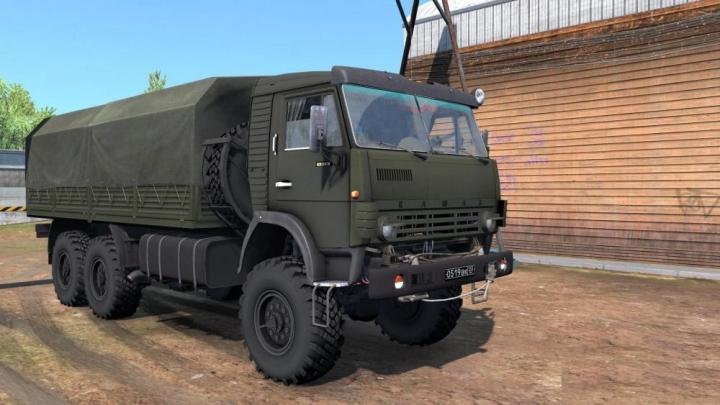 ETS2 - Kamaz 4310 Truck V1.1 (1.39.x)