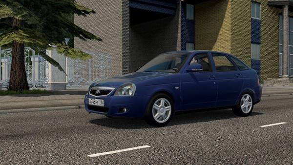 City Car Driving 1.5.9 - Lada Priora (Vaz 2172)