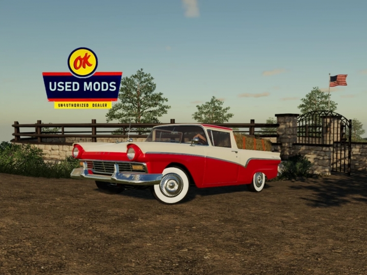 FS19 - 1957 Ford Ranchero V1.0