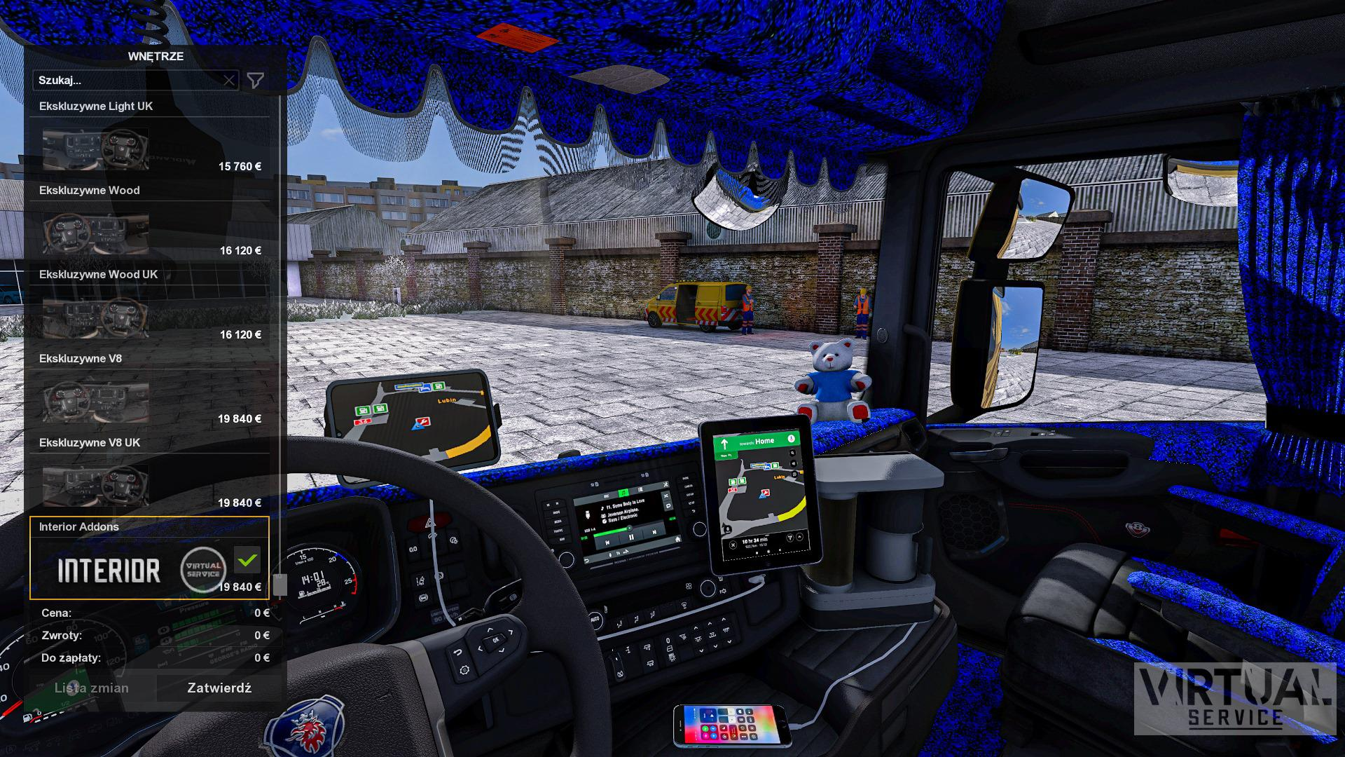 ETS2 - Interior Addons for Scania NG (1.39.x)