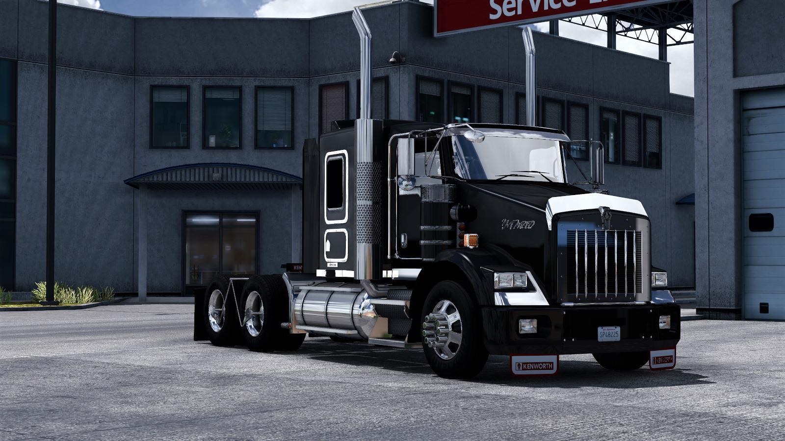 ATS - Kenworth T800 Custom Truck V3.0 (1.39.x)