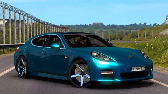 ETS2 - Porsche Panamera Turbo 2010 V6.0 (1.40.x)