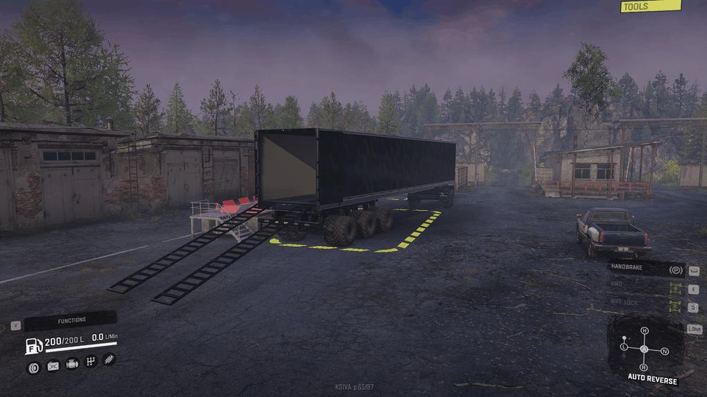SnowRunner - iX 8-Slot Road Train Ready Trailer V1.0