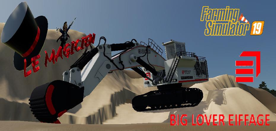 FS19 - Excavatrice 9800 Big Lover V1.2