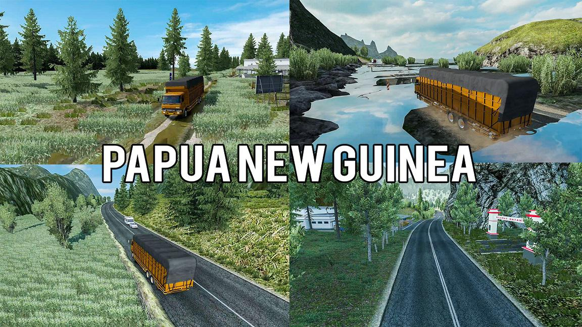 ETS2 - Rework Map Freeport Papua New Guinea (1.38.x)