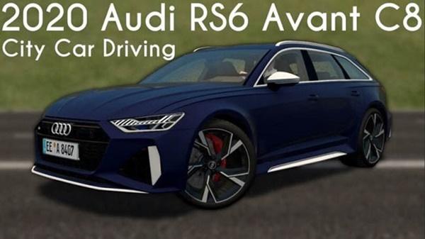City Car Driving 1.5.9 – Audi RS6 Avant C8 2020